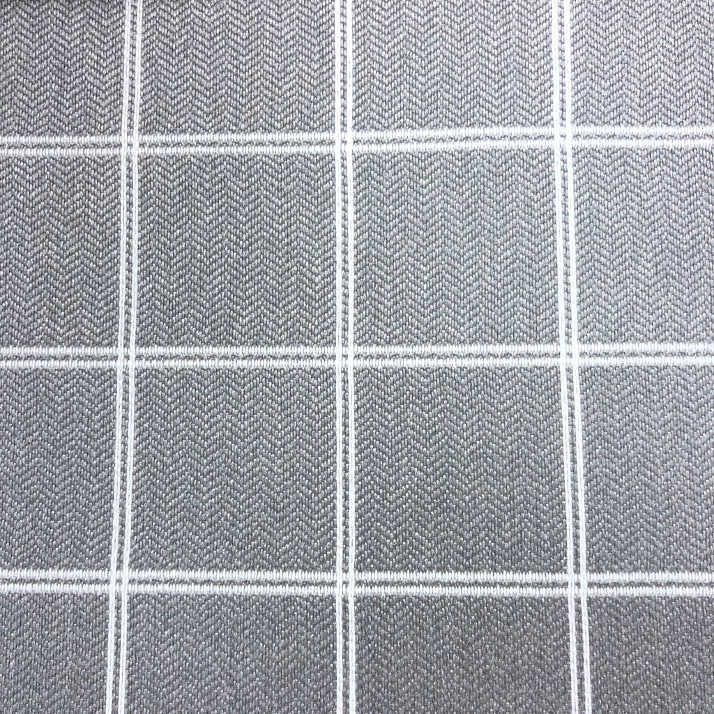 Avonlea - Performance Upholstery Fabric - Yard / Grey - Revolution Upholstery Fabric