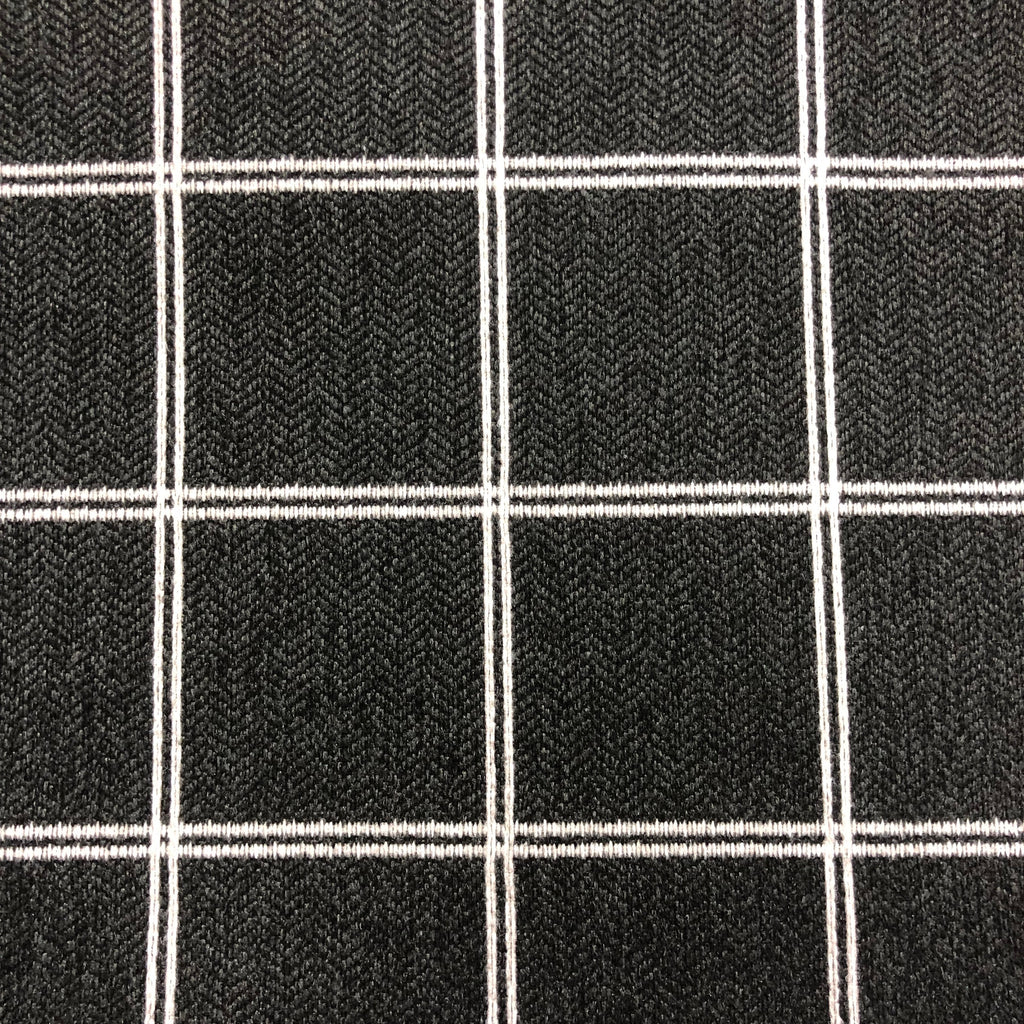 Avonlea - Performance Upholstery Fabric - Yard / Black - Revolution Upholstery Fabric