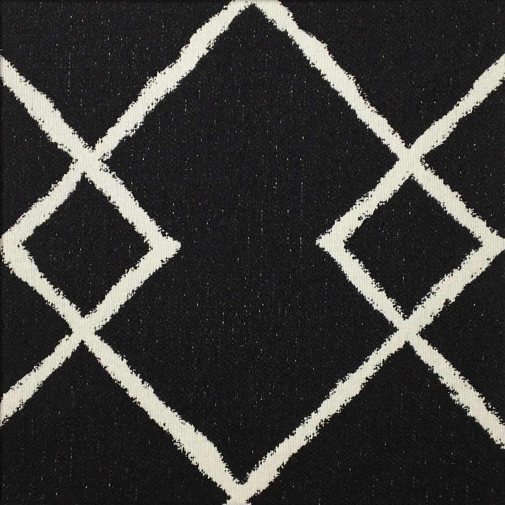 Chainstitch - Jacquard Upholstery Fabric - chainstitch-onyx / Yard - Revolution Upholstery Fabric