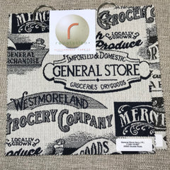 General Store Memo Set - General Store Memo Set - Revolution Upholstery Fabric