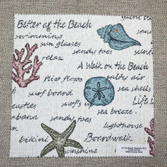 At The Beach Memo Set - At The Beach Memo Set - Revolution Upholstery Fabric
