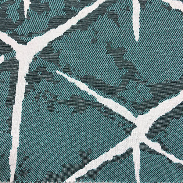 Java - Outdoor Upholstery Fabric - yard / Teal - Revolution Upholstery Fabric