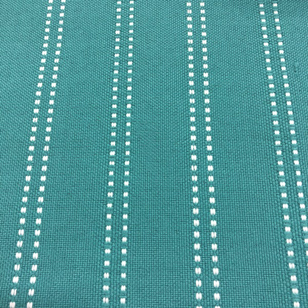 Stitch - Outdoor Performance Fabric - yard / Aqua - Revolution Upholstery Fabric