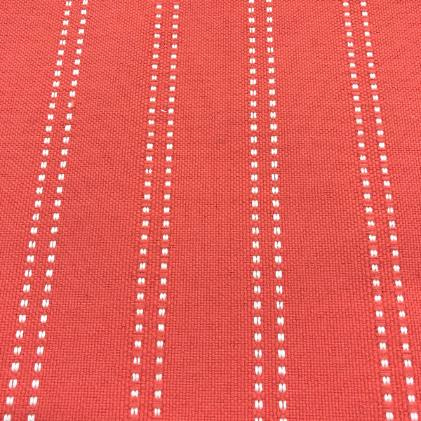 Stitch - Outdoor Performance Fabric - yard / Mango - Revolution Upholstery Fabric