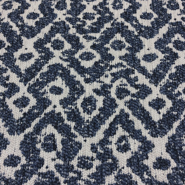 Braddock - Performance Upholstery Fabric - yard / Navy - Revolution Upholstery Fabric