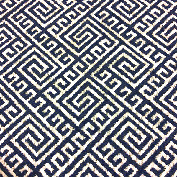 Hatteras - Outdoor Upholstery Fabric - yard / Navy - Revolution Upholstery Fabric