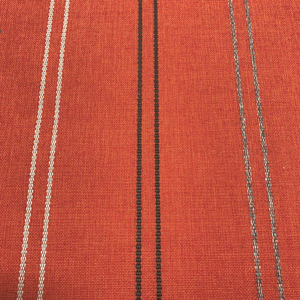 High Tide - Outdoor Upholstery Fabric - yard / Orange - Revolution Upholstery Fabric