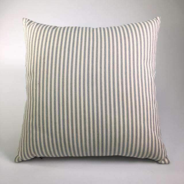 striped performance pillow