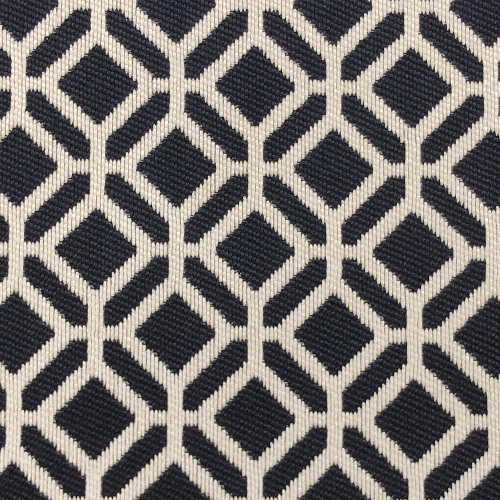 Oriole - Jacquard Upholstery Fabric - oriole-navy / Yard - Revolution Upholstery Fabric