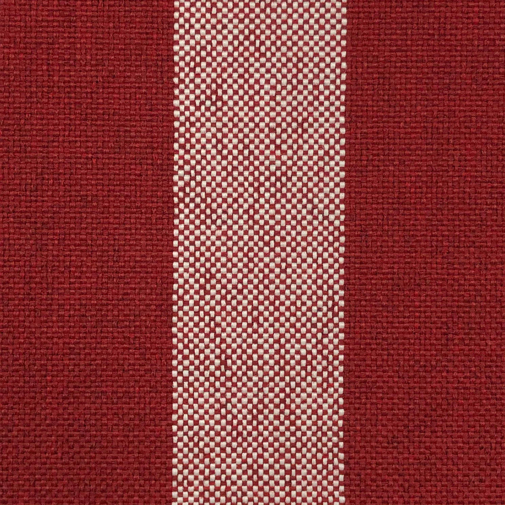 Nantucket - Outdoor Performance Fabric - yard / Red - Revolution Upholstery Fabric