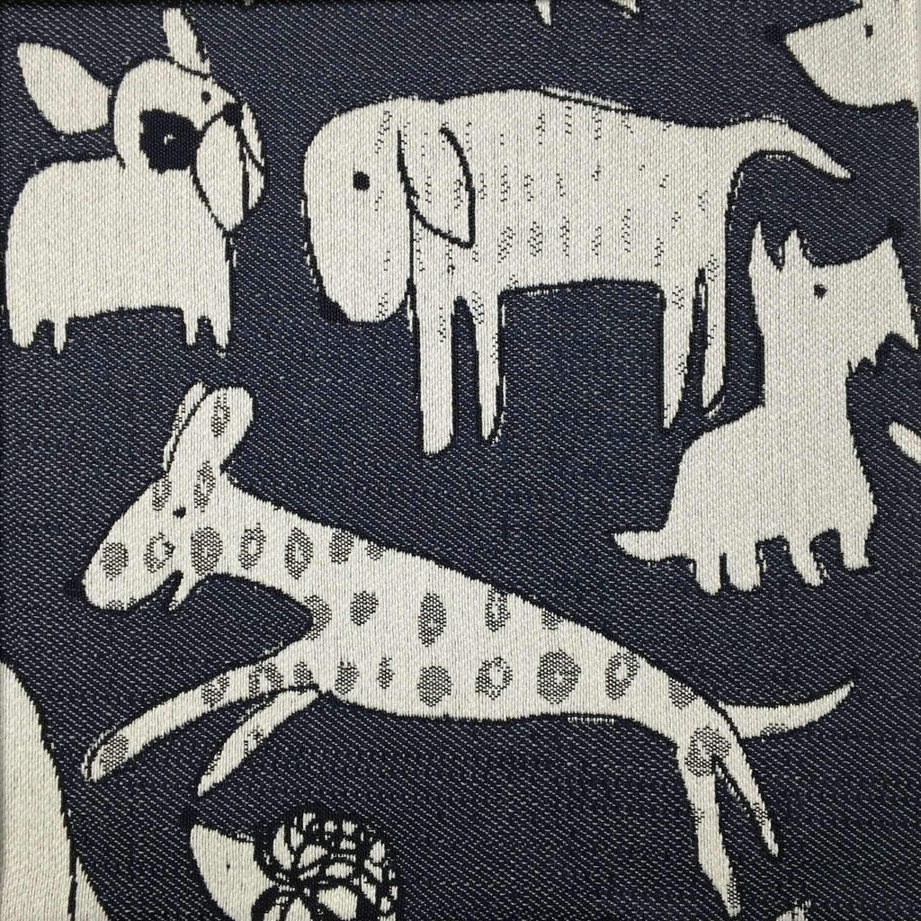 Woof - Revolution Plus Performance Fabric - woof-indigo / Yard - Revolution Upholstery Fabric