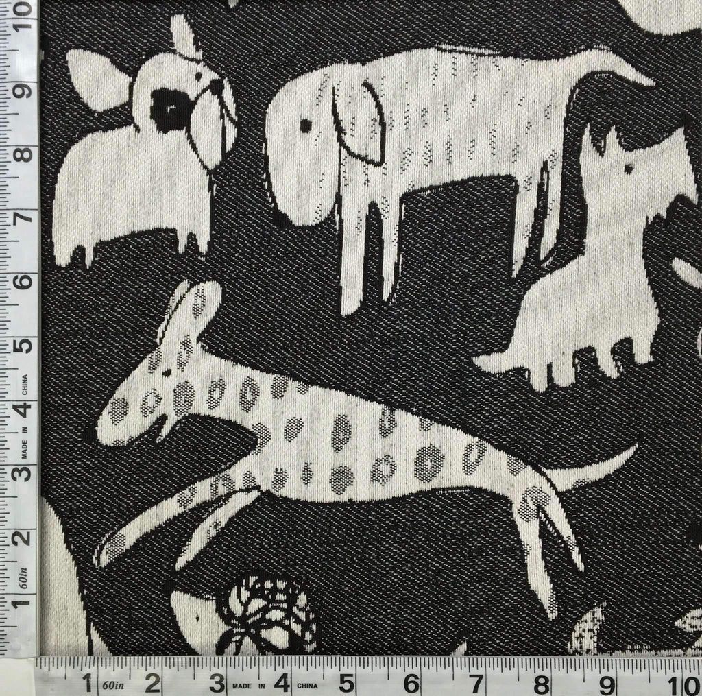 Woof - Revolution Plus Performance Fabric - woof-onyx / Yard - Revolution Upholstery Fabric