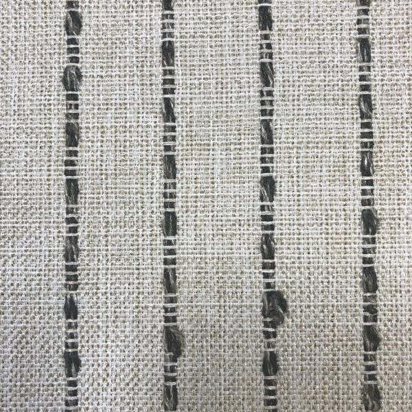 Avant Garde - Striped Upholstery Fabric - Yard / avantgarde- linengrey - Revolution Upholstery Fabric
