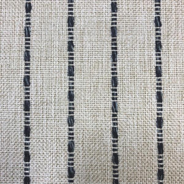 Avant Garde - Striped Upholstery Fabric - Yard / avantgarde-linenblue - Revolution Upholstery Fabric