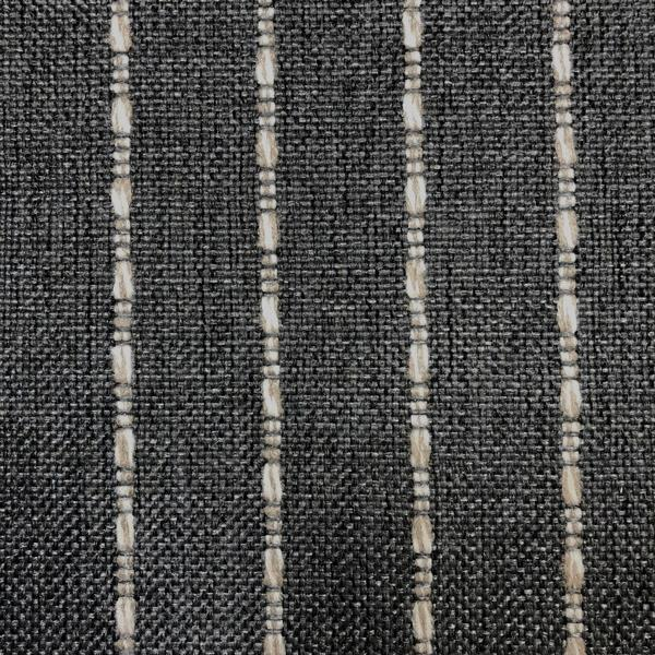 Avant Garde - Striped Upholstery Fabric - Yard / avantgarde-charcoal - Revolution Upholstery Fabric