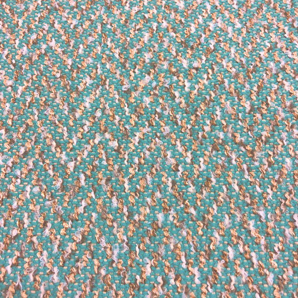 Berber - Performance Upholstery Fabric - yard / Teal - Revolution Upholstery Fabric