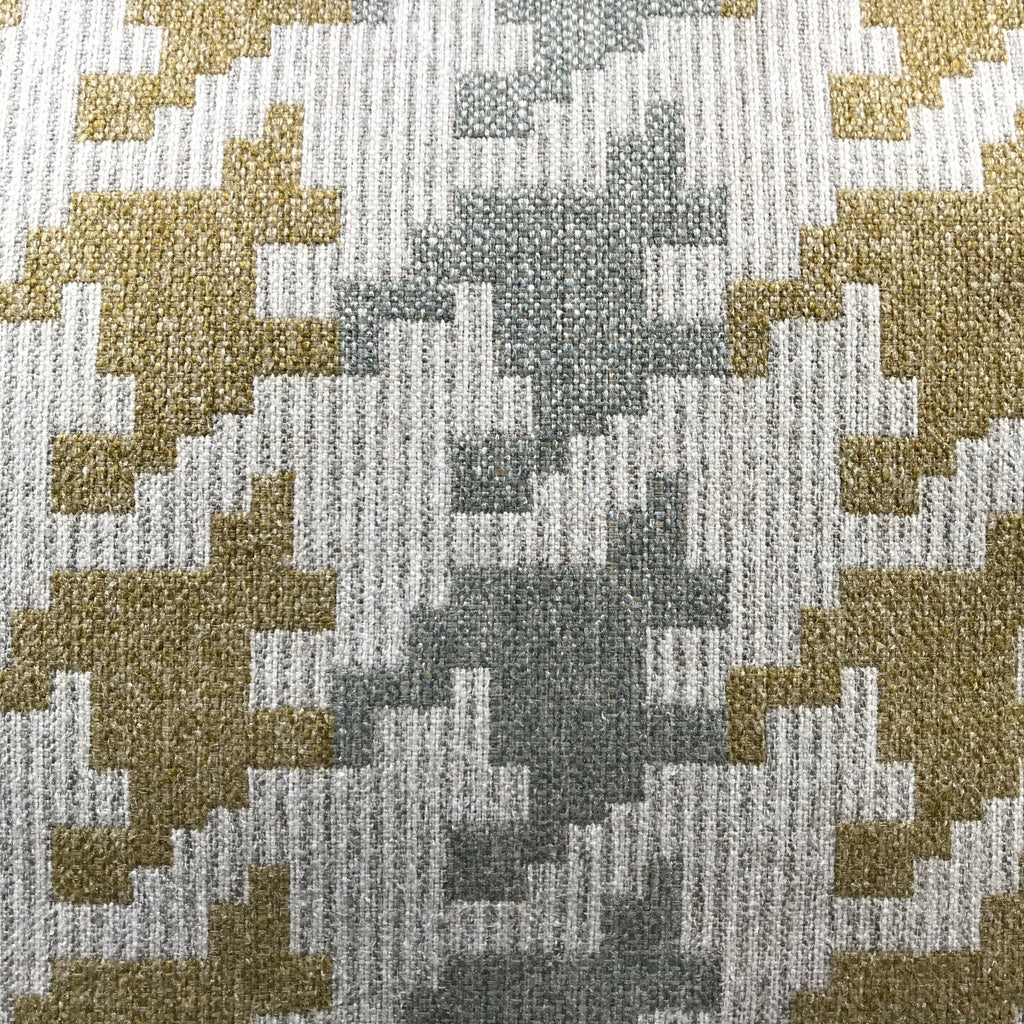 Blass Houndstooth - Jacquard Upholstery Fabric - yard / blass-capri - Revolution Upholstery Fabric