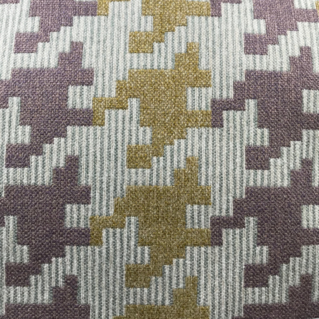 Blass Houndstooth - Jacquard Upholstery Fabric - yard / blass-meadow - Revolution Upholstery Fabric
