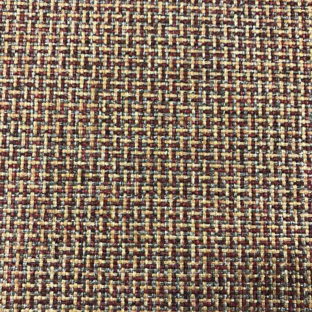 Caliente - Performance Upholstery Fabric - swatch / caliente-chili - Revolution Upholstery Fabric