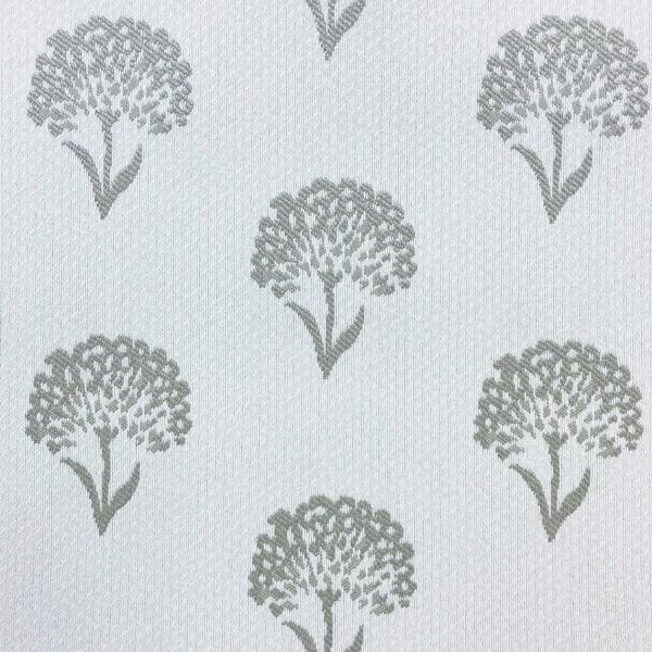 Coneflower Floral - Jacquard Upholstery Fabric - Yard / coneflower-taupe - Revolution Upholstery Fabric