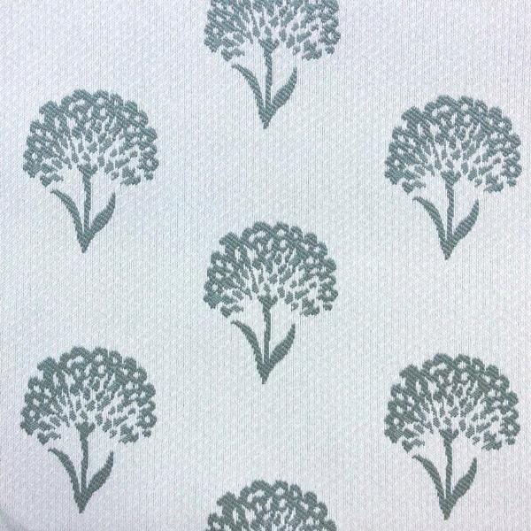 Coneflower Floral - Jacquard Upholstery Fabric - Yard / coneflower-teal - Revolution Upholstery Fabric