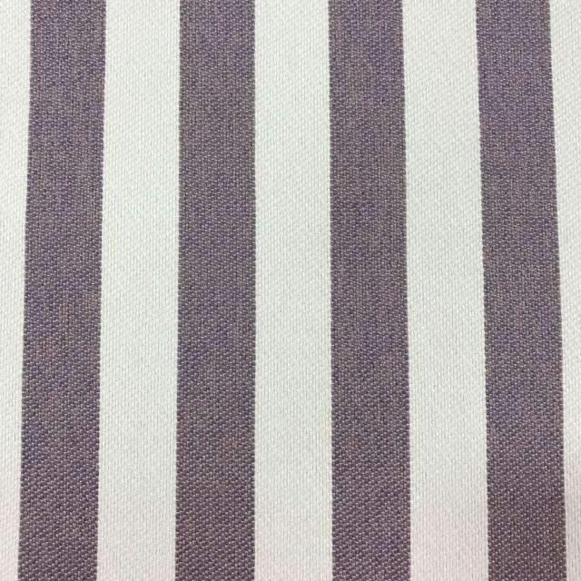 Cowabunga - Washable Striped Performance Fabric - yard / cowabunga-lavender - Revolution Upholstery Fabric