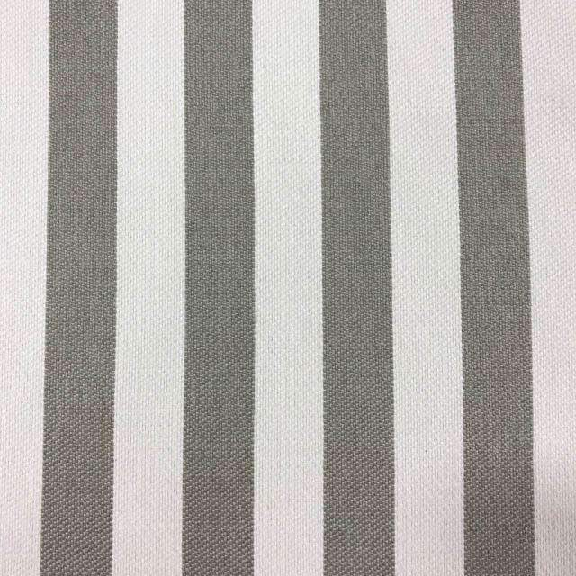 Cowabunga - Washable Striped Performance Fabric - yard / cowabunga-taupe - Revolution Upholstery Fabric