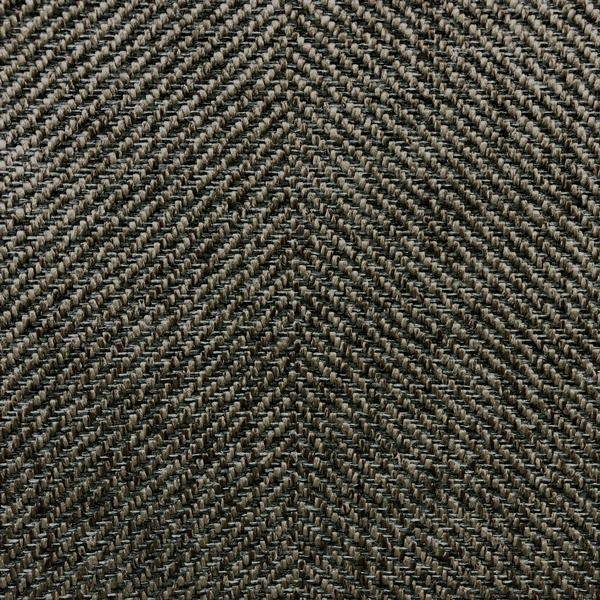 Downton - Performance herringbone upholstery fabric - Yard / downton-badger - Revolution Upholstery Fabric