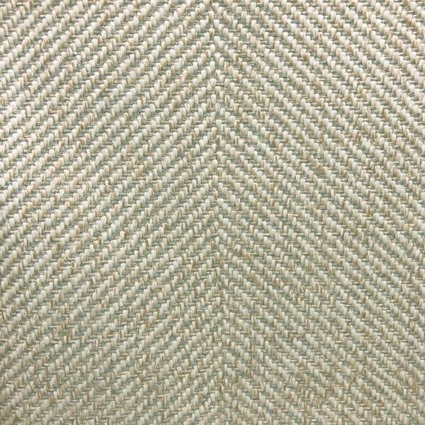 Downton - Performance herringbone upholstery fabric - Yard / downton-seaglass - Revolution Upholstery Fabric