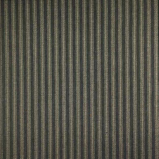 Foreshore - Washable Striped Performance Fabric - foreshore-carbon / Yard - Revolution Upholstery Fabric