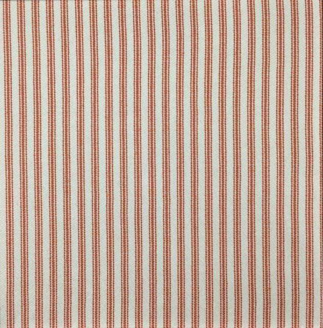 Foreshore - Washable Striped Performance Fabric - foreshore-mango / Yard - Revolution Upholstery Fabric