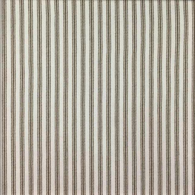 Foreshore - Washable Striped Performance Fabric - foreshore-walnut / Yard - Revolution Upholstery Fabric