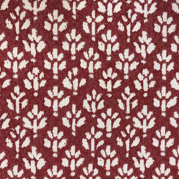 Iceland Ditsy Floral -  Jacquard Upholstery Fabric - Yard / iceland-cherry - Revolution Upholstery Fabric