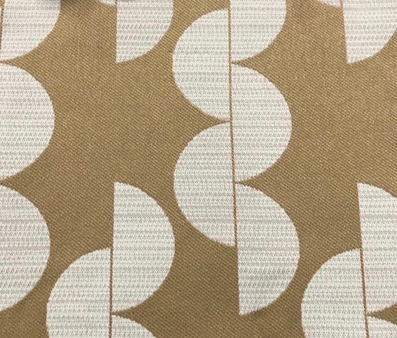 Lunar - Jacquard Upholstery Fabric - Yard / lunar-gold - Revolution Upholstery Fabric
