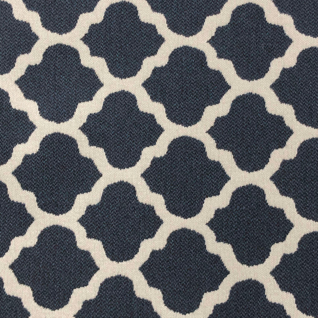 Metalwork - Washable Performance Fabric - metalwork-indigo / Yard - Revolution Upholstery Fabric