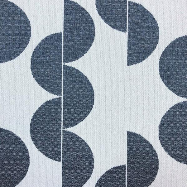 Lunar - Jacquard Upholstery Fabric - Yard / lunar-navy - Revolution Upholstery Fabric