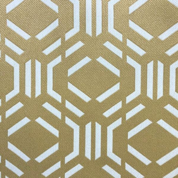 Montpelier Geometric Pattern -  Jacquard Upholstery Fabric - Yard / montpelier-gold - Revolution Upholstery Fabric