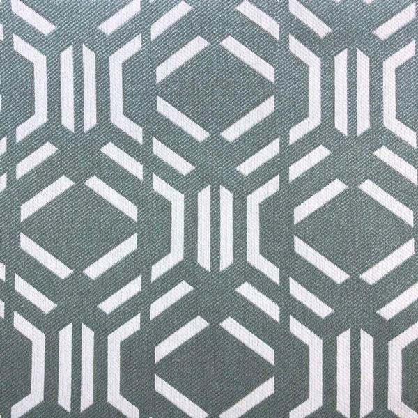 Montpelier Geometric Pattern -  Jacquard Upholstery Fabric - Yard / montpelier-teal - Revolution Upholstery Fabric