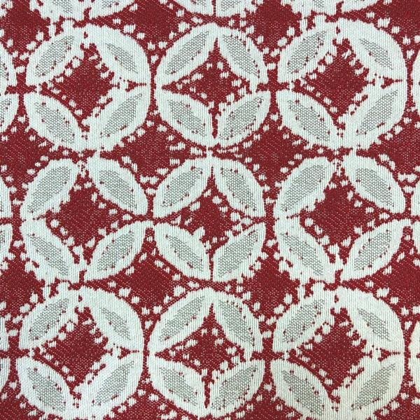 Norway Fabric - Jacquard Upholstery Fabric - Yard / norway-cherry - Revolution Upholstery Fabric