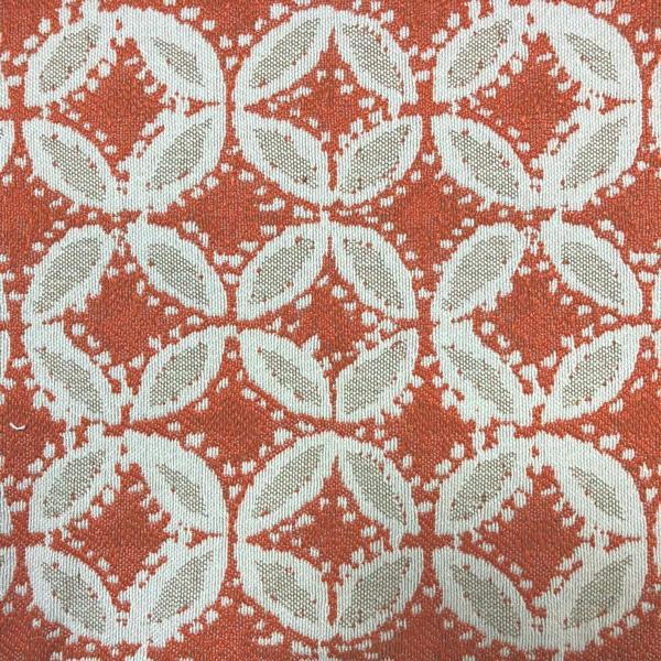 Norway Fabric - Jacquard Upholstery Fabric - Yard / norway-mango - Revolution Upholstery Fabric