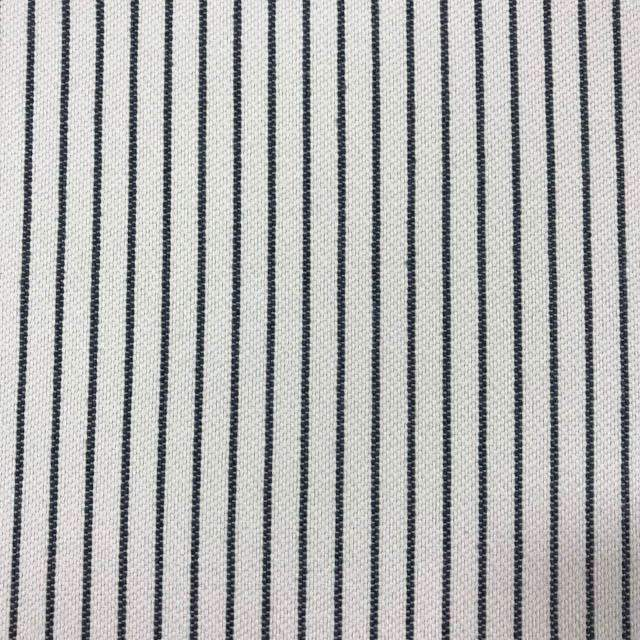 Optimum - Washable Striped Performance Fabric - swatch / optimum-denim - Revolution Upholstery Fabric