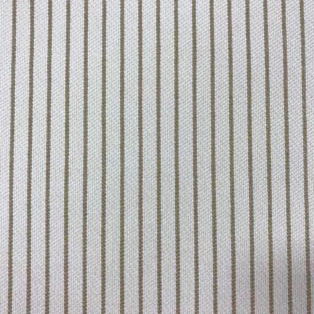Optimum - Washable Striped Performance Fabric - swatch / optimun-ivory - Revolution Upholstery Fabric