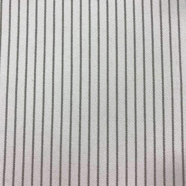 Optimum - Washable Striped Performance Fabric - swatch / optimum-smoke - Revolution Upholstery Fabric