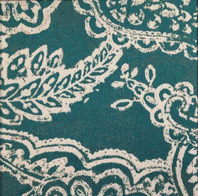 Opulent - Paisley Upholstery Fabric - opulent-bottle / Yard - Revolution Upholstery Fabric