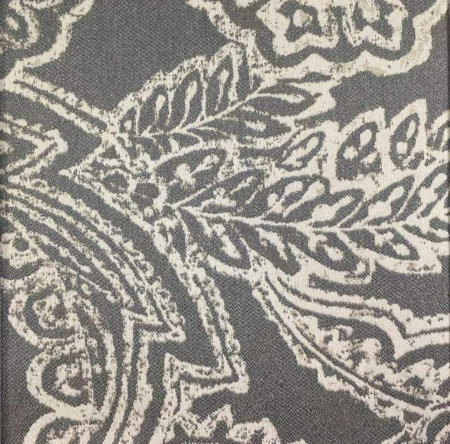 Opulent - Paisley Upholstery Fabric - opulent-conch / Yard - Revolution Upholstery Fabric