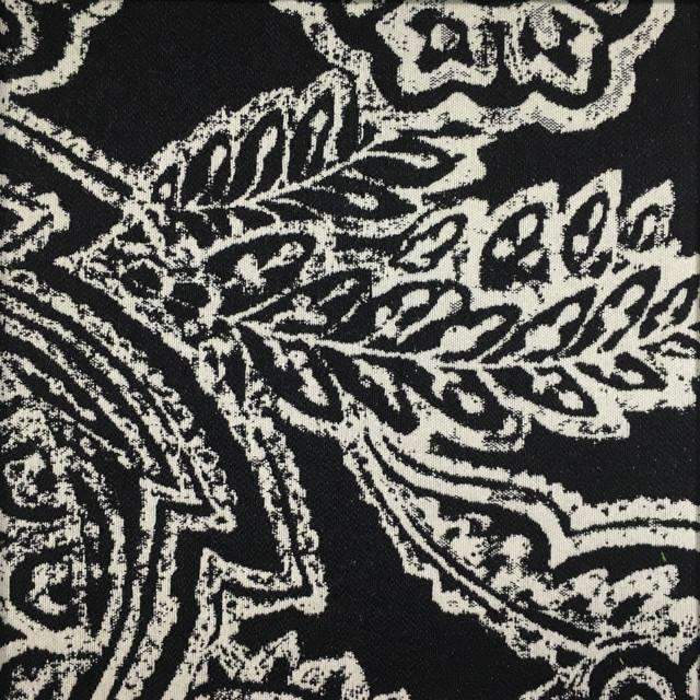Opulent - Paisley Upholstery Fabric - opulent-onyx / Yard - Revolution Upholstery Fabric