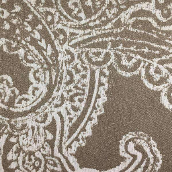 Opulent - Paisley Upholstery Fabric - opulent-sand / Yard - Revolution Upholstery Fabric
