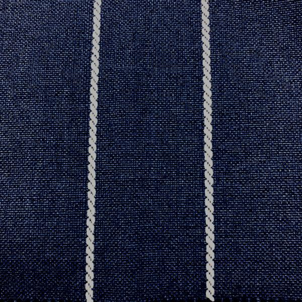 Pencil-Performance Outdoor Fabric - Yard / pencil-indigo - Revolution Upholstery Fabric