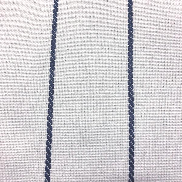 Pencil - Performance Outdoor Fabric - Yard / pencil-navy - Revolution Upholstery Fabric