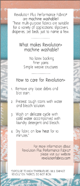 Revolution Plus Single Panel Leaflet -  - Revolution Upholstery Fabric